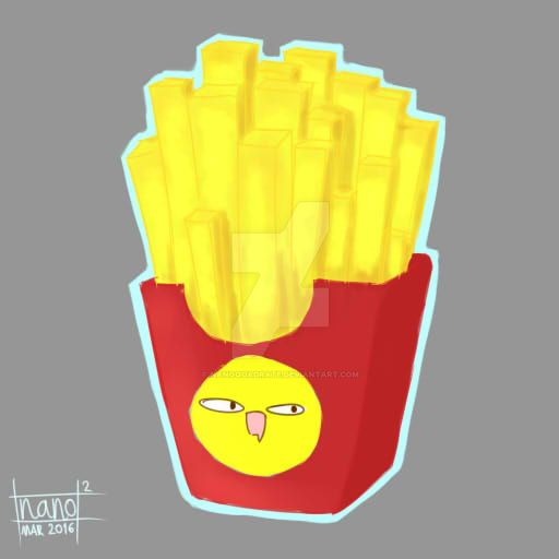 French Fries for your soul by nanoquadrate