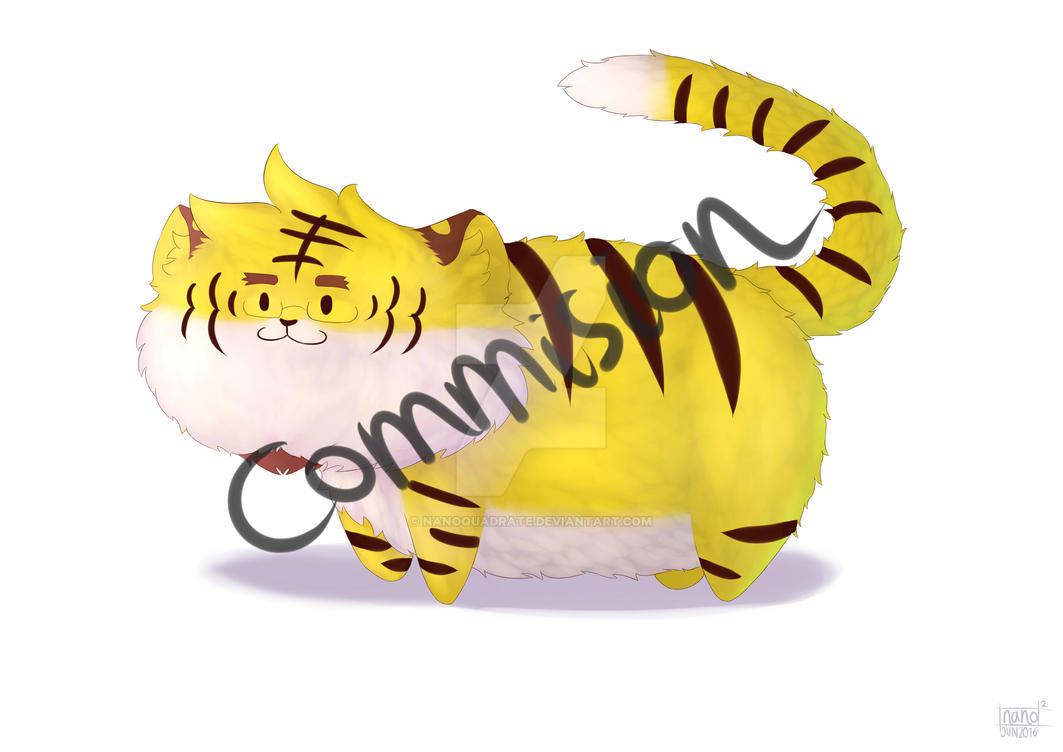 Commision: Razuya Fluffball Edition by nanoquadrate