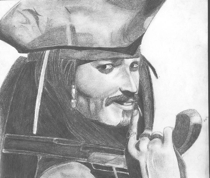 Captain Jack Sparrow by NKAlexander
