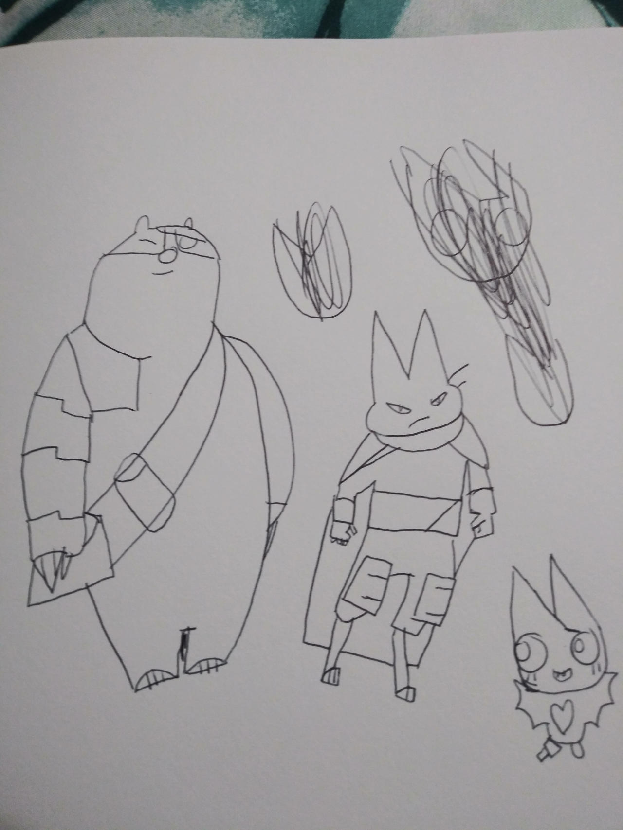 Mao Mao Badgerclops And Adorabat Drawing By Memester232 On Deviantart Mao and badgerclops as rufus and reg (lol bc looks like a boy scout). mao mao badgerclops and adorabat