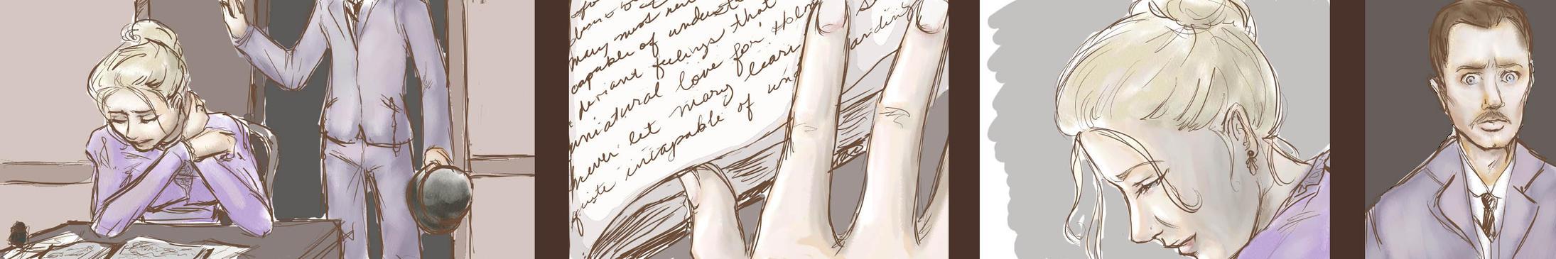 SH: Strange Mary journal thing by hikethekilt