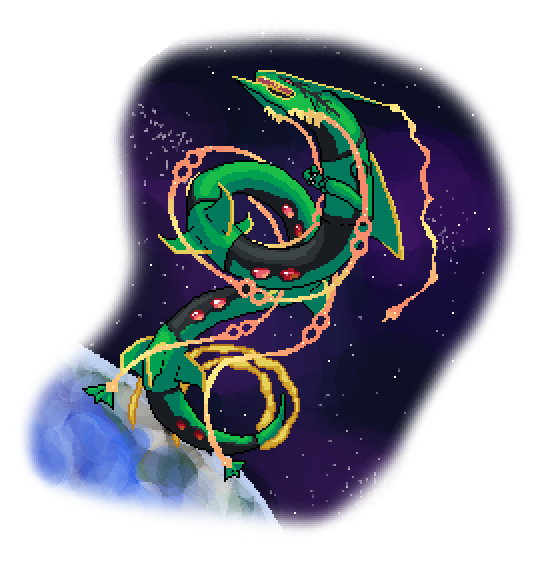 Pokemon Mega Rayquaza By Monstertooth On Deviantart