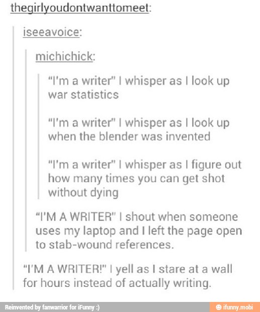 Writing jokes