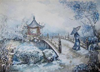 Snowstorm by Reraartist