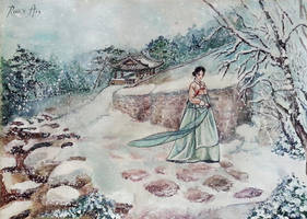 Korean winter