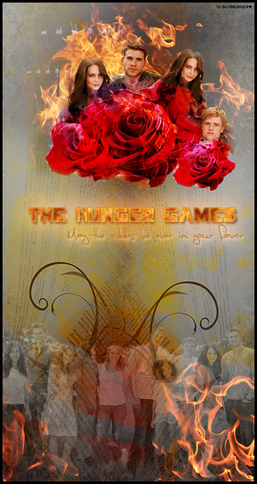 Run in to the fire Gallery ♥ The_hunger_games_by_silviaalonizca-d4xcbrv