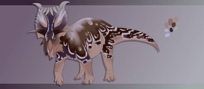 Dinovember Day 6 - Kosmoceratops [CLOSED]