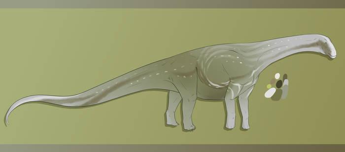 Dinovember Day 8 - Bonitasaurus