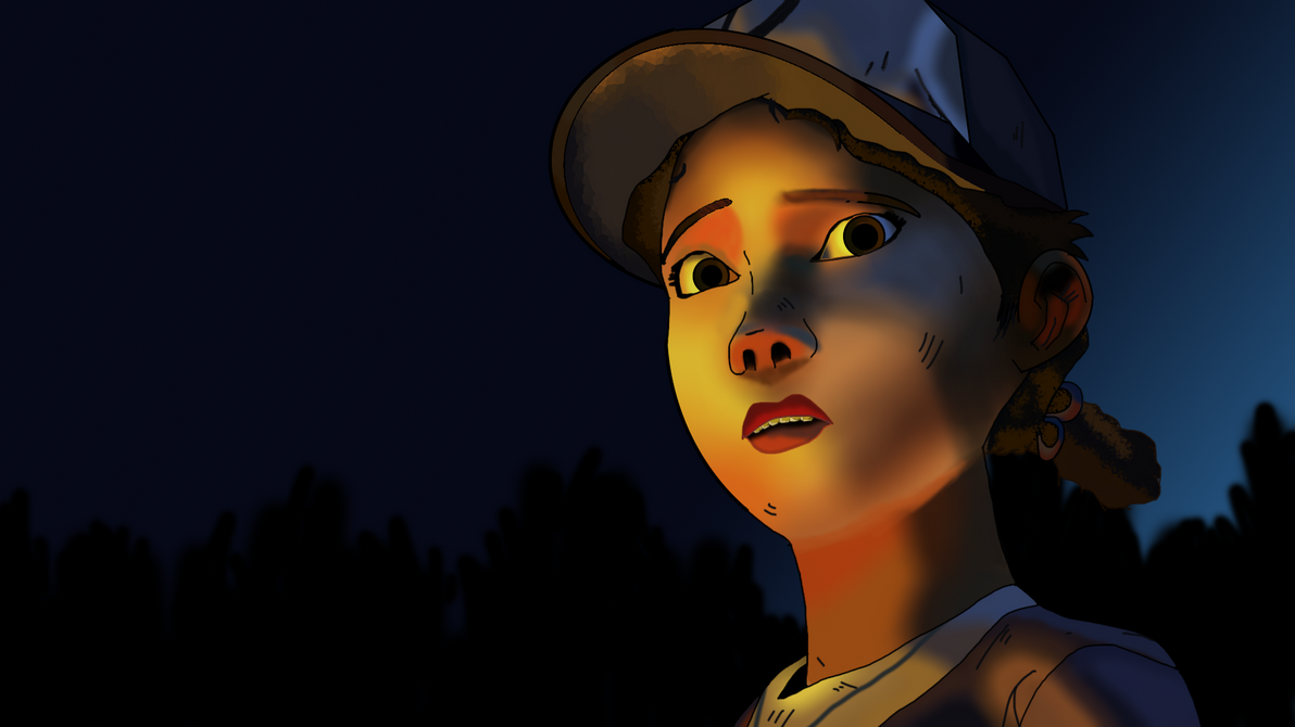 Clementine (The Walking Dead Game) by MrIDrawThings on DeviantArt