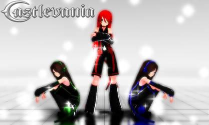 Castlevania - Append Belmont Trio [DL LINK] by Sheila-Sama-15