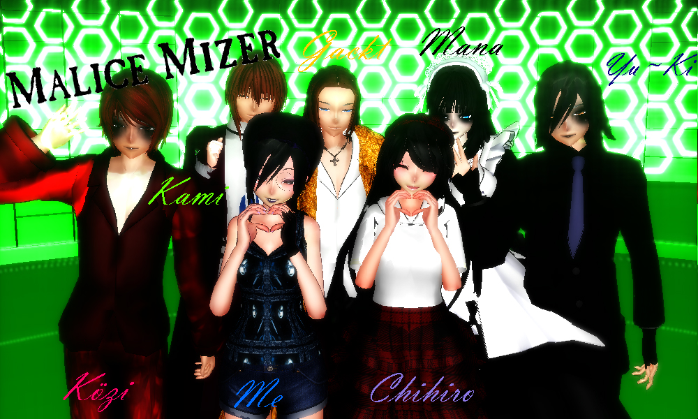 MMD - Meeting Malice Mizer Members~ by Sheila-Sama-15