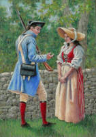 Colonial Courtship by AinsleyM