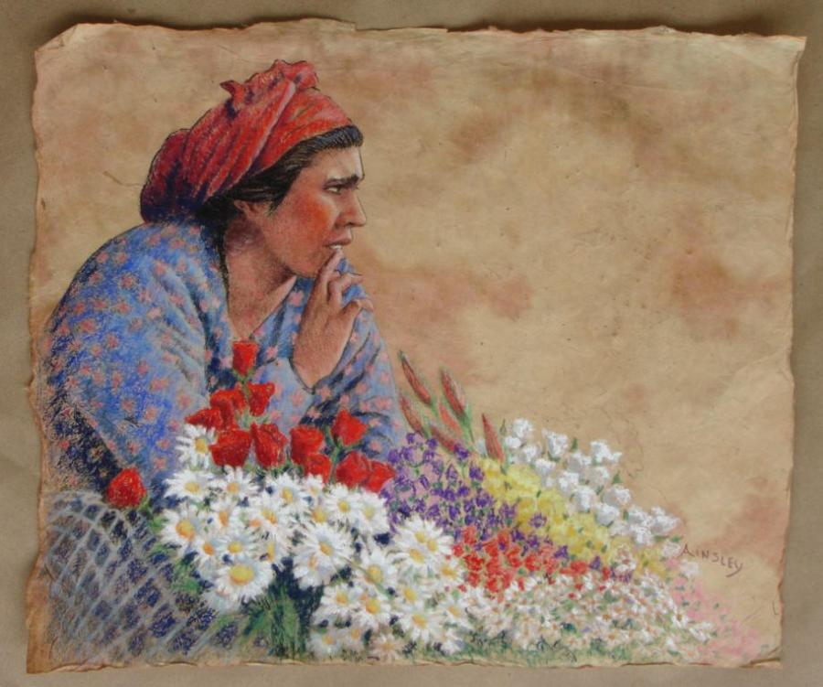 The Gypsy Flowerseller by AinsleyM