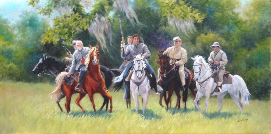 Grey Riders by AinsleyM
