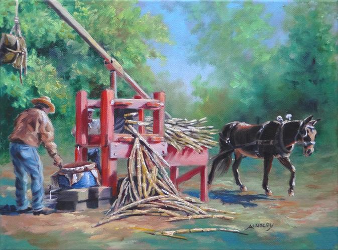 Crushing cane by AinsleyM