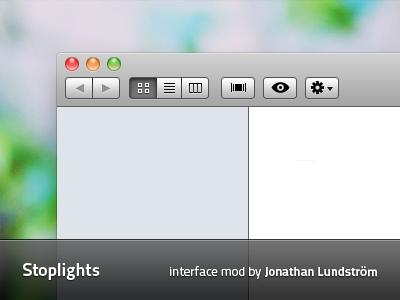 Mac OS Stoplights by Plizzo