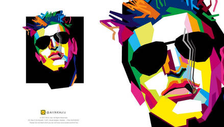 Geometric, WPAP Vector Portrait by A-STYLE