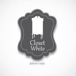 Closet White Logo by dimaginers