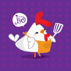 Chicken Jago cooking by dimaginers