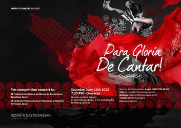 Para Gloria De Cantar! by dimaginers