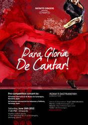 Para Gloria De Cantar by dimaginers