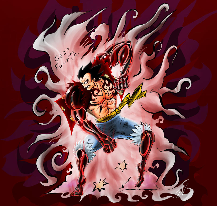 Luffy Gear Fourth 'in ... One Piece Wallpaper Luffy Gear Fourth