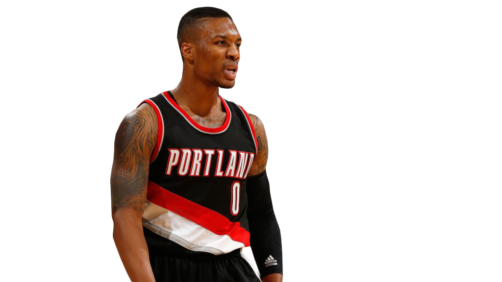 Damian Lillard Transparent PNG angry by freddieof on ...