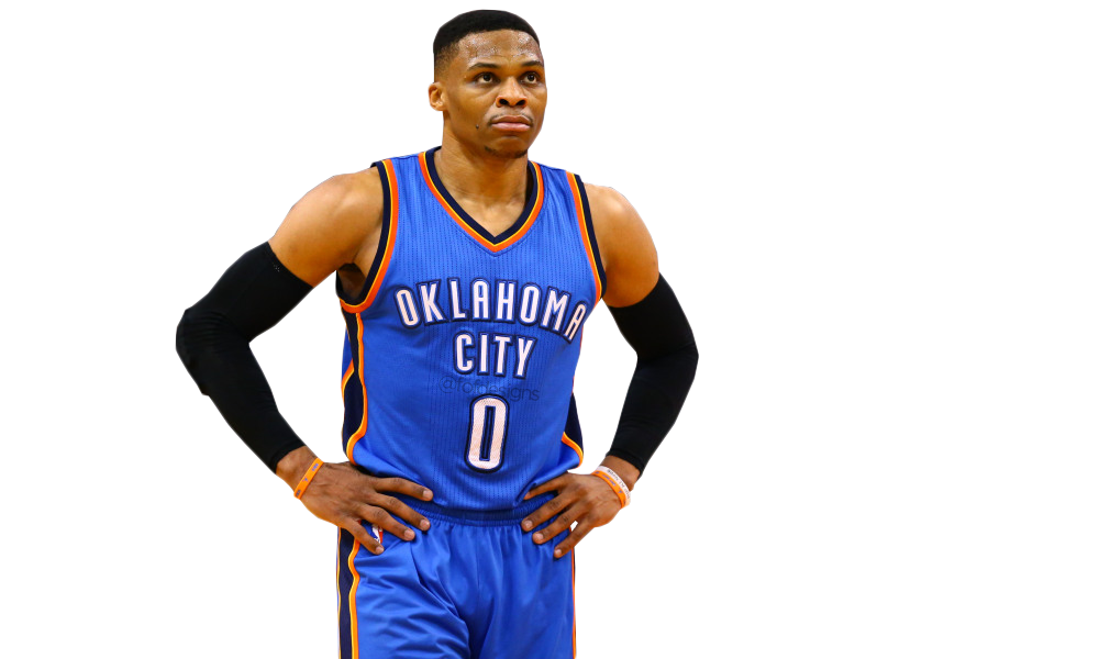 Russell Westbrook PNG Transparent by freddieof on DeviantArt
