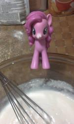 Me and Pinkie Pie baking 1 by goukai