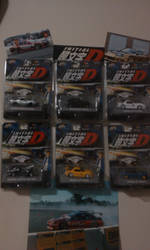 My INITIAL D Collection by goukai