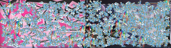 1000 Rainbows....... by goukai