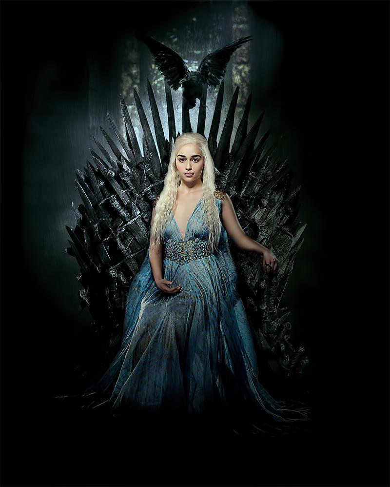 Khaleesi from Game Of Thrones by ZorisBube on DeviantArt