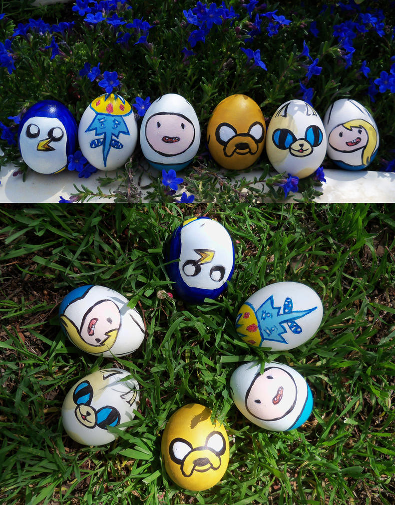 Adventure Time Easter Eggs 2 by EmilyStepp