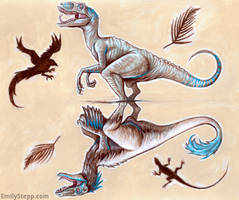 Feathers or Scales by EmilyStepp