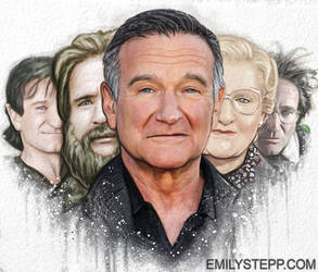Robin Williams Tribute by EmilyStepp
