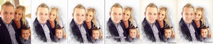 Family Portrait Process