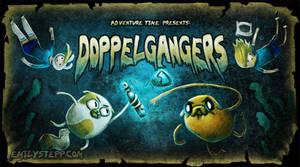 Adventure Time Title Card Design