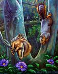 Markham Nature Park Squirrels by EmilyStepp