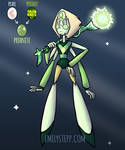 Pearl + Peridot = Prehnite