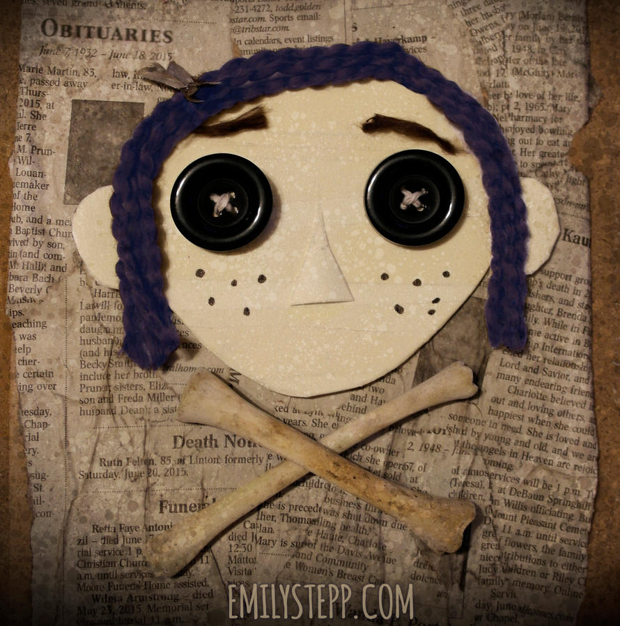 Creepy Coraline Collage By EmilyStepp On DeviantArt
