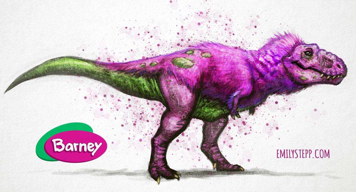 Barney The Dinosaur By Emilystepp On Deviantart