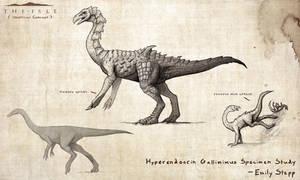 Hyperendocrin Gallimimus by EmilyStepp