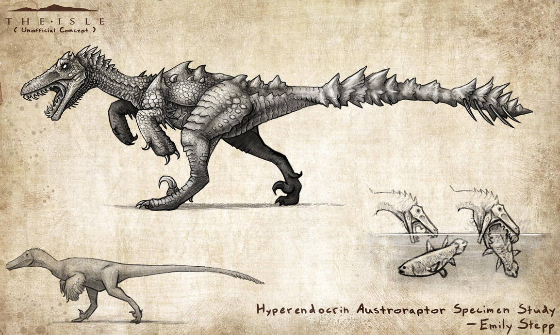 Hyperendocrin Austroraptor by EmilyStepp