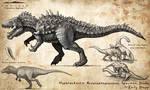 Hyperendocrin Acrocanthosaurus