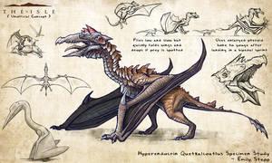 Hyperendocrin Quetzalcoatlus by EmilyStepp