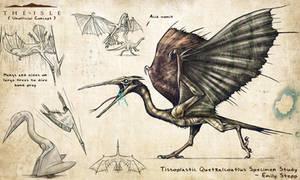 Tissoplastic Quetzalcoatlus by EmilyStepp