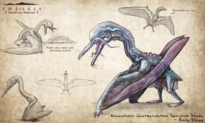 Neurotenic Quetzalcoatlus by EmilyStepp
