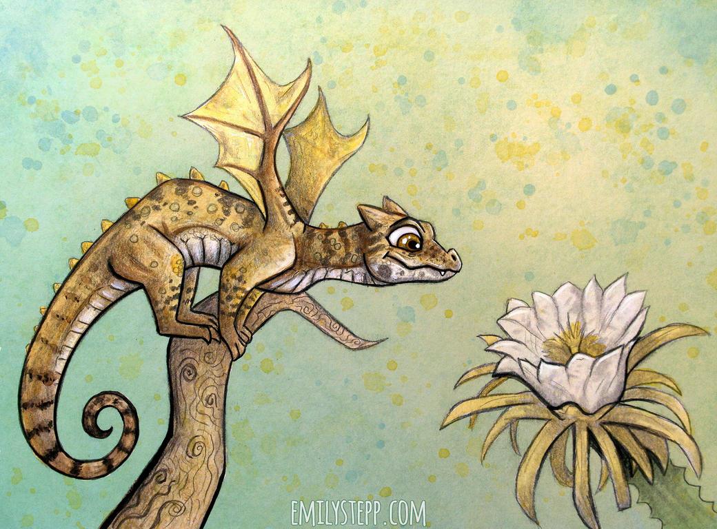 Dragonflower by EmilyStepp