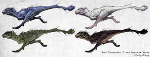 Sub-Tisso  rex skin concepts