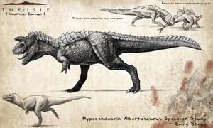 Hyperendocrin Albertosaurus Concept by EmilyStepp